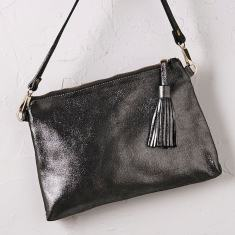 Annette cross body bag in dark grey