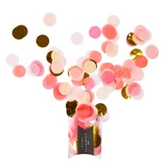 Pink Shimmer Jumbo Confetti (pack of 2)