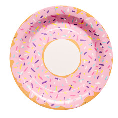 Donut party plates (2 packs of 10)