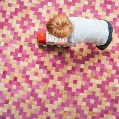 Azteca cowhide rug