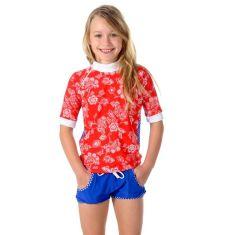 Girls UPF 50+ castaway rash shirt