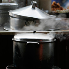 Street kitchen photograph