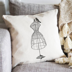 Dressform cushion cover