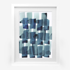 Framed Cass Deller 'Abstract #1' print