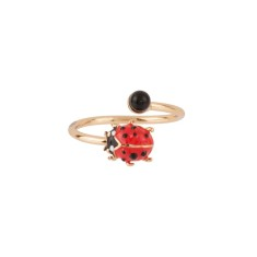 Adjustable ladybird ring