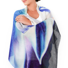 Cashmere Agave Scarf