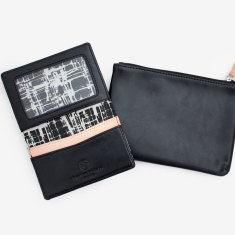 Edge purse & card holder set