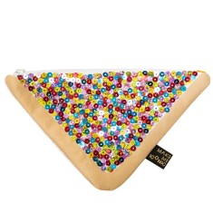 Iconic treat sequin purse