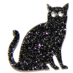 Sparkle Suzie Cat Brooch
