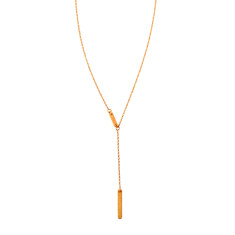 Double Bar Chain Necklace