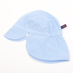 Kids' sun hat in light blue