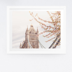 Spring in London photography print