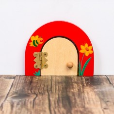 Personalised fairy door - Busy Bee