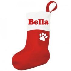 Personalised pawsome Christmas stocking for pets