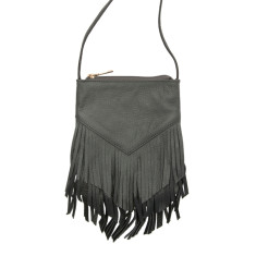 Kate leather fringe bag