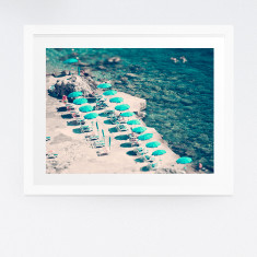 Amalfi Coast beach photography print