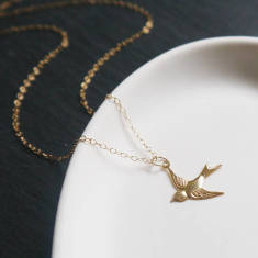 Little swallow necklace