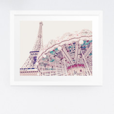 Paris photography print
