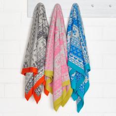 Flutter cotton reversible cot blanket (various colours)