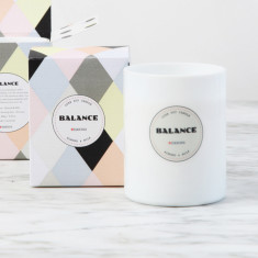 Balance Luxe Candle in Almond & Milk