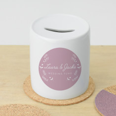 Personalised wedding money box