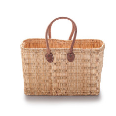 Large reed basket