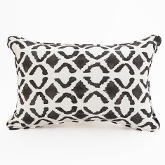 Maasai Lines cushion in black