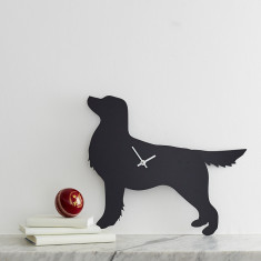 Dog clock with wagging tail (variations available)
