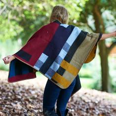 Jessie blanket poncho
