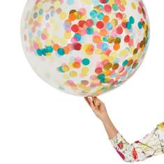 Mumbo Jumbo confetti balloons (pack of 2)