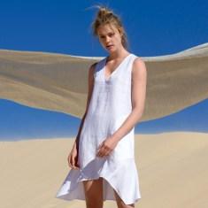 Sila Linen Dress