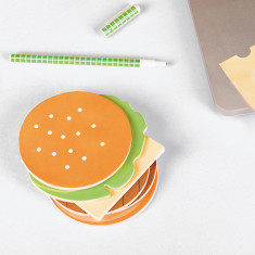 DOIY fast food burger notes