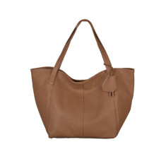 Clarissa tan tote bag