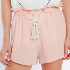 Flow paper bag shorts