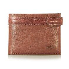 Mens Leather Bi-Fold Wallet