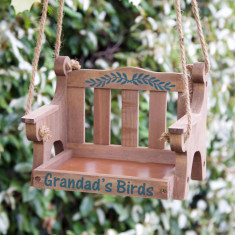 Personalised Swinging Bird Feeder