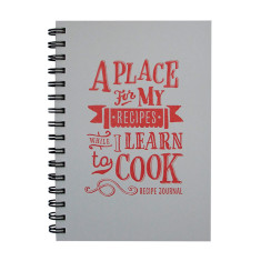 Learning to cook journal