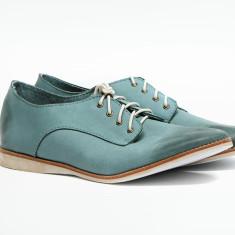 Men's Derby loafers in blue