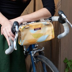 Po Campo feathers handlebar clutch