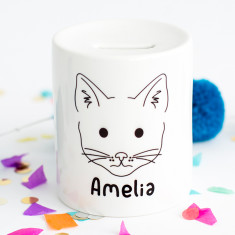 Personalised Animal Money Box