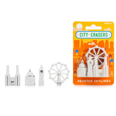 Suck UK city erasers (various styles)