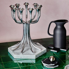 Candelabra In Nickel