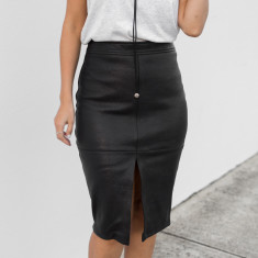 Tatiana Pencil Skirt – Black