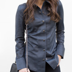 Jess Leather Shirt