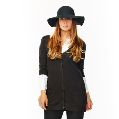Boyfriend cardigan in black