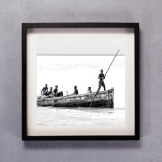 By Sea Photographic Print in Black & White
