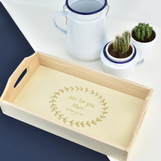 Just For You Personalised Tea Tray