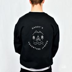 Men's Personalised Adventure Sweatshirt Jumper