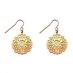 Gold Rosa Earrings