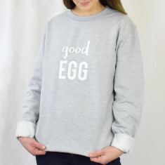 Good Egg Unisex Jumper Sweatshirt